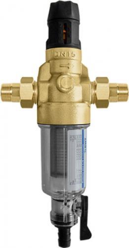 Фильтр для холодной воды с прямой промывкой и редуктором давления BWT Protector mini C/R HWS